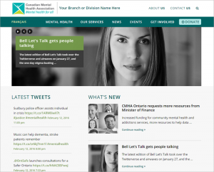 CMHA Website 2.0